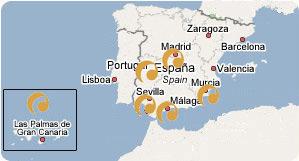 Mapa de empresas a nivel nacional