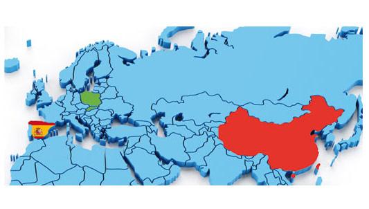 Mapa de Empresas a nivel Internacional